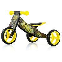 Rowerki biegowe, Drewniany rowerek biegowy Jake ARMY 2 w 1