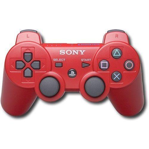Akcesoria do PS 3, Gamepad Pad Sony Dualshock 3 PS3 Czerwony
