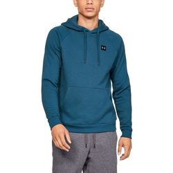 Under Armour Bluza z kapturem RIVAL FLEECE PO HOODIE Niebieska - Niebieski