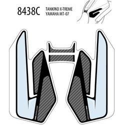 Tankpad PUIG Extreme do Yamaha MT-07 14-17 (trzyczęściowy)