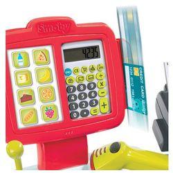 Smoby Elektroniczna kasa fiskalna XL, kolor czerwony
