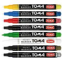 Markery, Marker olejowy Toma, pomarańczowy wkład (to-41)
