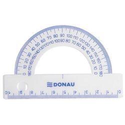 Kątomierz DONAU, 10cm, 180, transparentny