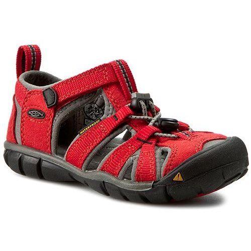 Sandały dziecięce, Sandały KEEN - Seacamp II Cnx 1014470 Racing Red/Gargoyle