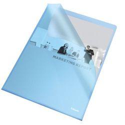 Ofertówka groszkowa L Esselte 60834 A4/25szt.,115mic. niebieska