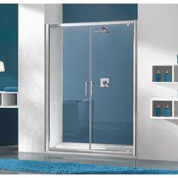 SANPLAST drzwi Tx 5 100 otwierane, szkło CR DD/TX5b-100 600-271-1940-38-371