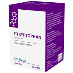 F-Tryptophan L-tryptofan 350mg 60 porcji 21g ForMeds