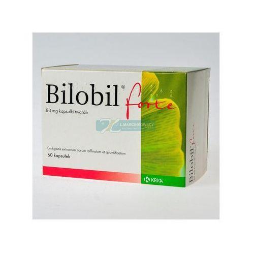 Witaminy i minerały, Bilobil forte 80 mg x 60 kaps