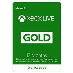 Microsoft Xbox Live Gold - 12 miesięcy (S4T-00019) - BEZPŁATNY ODBIÓR: WROCŁAW!