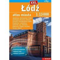 Mapy i atlasy turystyczne, Łódź XXL atlas miasta i okolic 1:16 000 - Praca zbiorowa (opr. broszurowa)