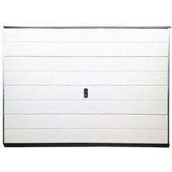 Brama garażowa segmentowa BALIDO gładka - biały