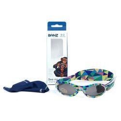 Okulary przeciwsłoneczne dzieci 0-2lat UV400 BANZ - Kaleidoscope