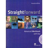 Książki do nauki języka, Straightforward advanced Student`s book + Cd (opr. miękka)