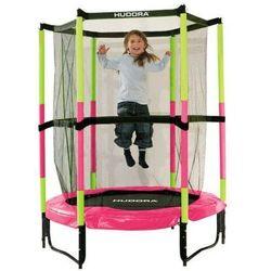 Trampolina Jump In 140 cm dla dzieci Hornet HUDORA bezpieczna różowa