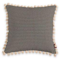 Dekoria Poszewka Wera na poduszkę, szaro-beżowa pepitka, 45 x 45 cm, Edinburgh
