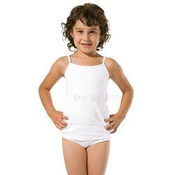 Podkoszulek dziewczęcy 122-140 ramiączko 40218 Wadima
