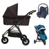 Wózki wielofunkcyjne, Baby Jogger City Mini GT+GRATIS+gondola+fotelik (do wyboru)