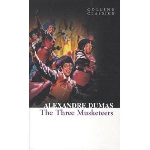 Książki do nauki języka, The Three Musketeers (opr. miękka)