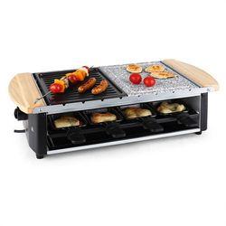 Klarstein Chateaubriand grill-raclette płyta kamienna 1200W Zamów ten produkt do 21.12.16 do 12:00 godziny i skorzystaj z dostawą do 24.12.2016