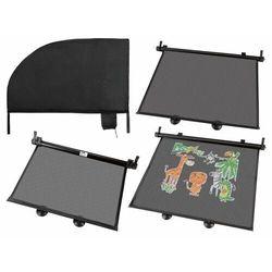 ULTIMATE SPEED® Roleta przeciwsłoneczna lub osłona przeciwsłoneczna samochodowa, 2 sztuki