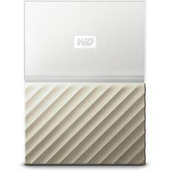 Western Digital My Passport Ultra 1000GB Złoto, Biały zewnętrzny dysk twarde