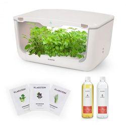 Klarstein Growlt Farm Starter Kit I 28 roślin 48 W 8 l zestaw nasion azjatyckich pożywka