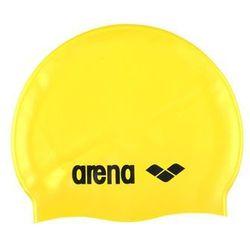arena Classic Silicone Czepek pływacki żółty 2018 Czepki pływackie
