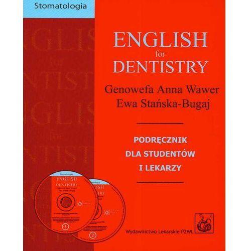 Książki medyczne, English for dentistry + CD (opr. miękka)