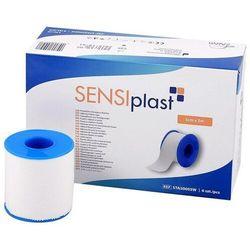 Plaster tkaninowy, biały SENSIPLAST - Zarys 5 m x 5 m, 1 sztuka/rolka
