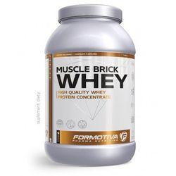 FORMOTIVA MUSCLE BRICK WHEY 2100g truskawka białko