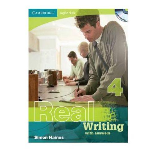 Książki do nauki języka, Real Writing with answers 4 /CD gratis/ (opr. miękka)