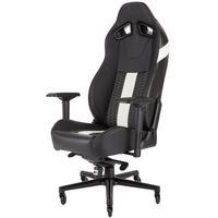 Fotele dla graczy, Fotel CORSAIR T2 Road Warrior Czarno-Biały DARMOWY TRANSPORT
