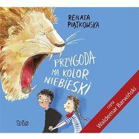 Książki dla dzieci, Przygoda ma kolor niebieski - Wysyłka od 3,99