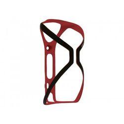 Koszyk na bidon BLACKBURN CINCH karbonowy 16g czarno-czerwony połysk