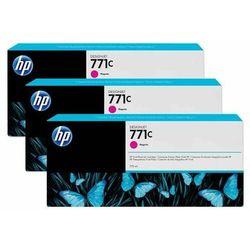 HP oryginalny ink B6Y33A, No.771C, magenta, 3szt, HP Designjet Z6200