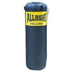 Worek bokserski Allright 90 x 30cm 14kg czarny, łańcuch