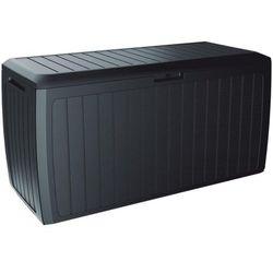Skrzynia ogrodowa BOXE BOARD - antracytowy