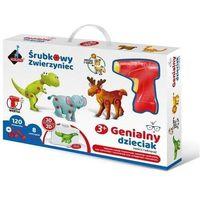 Kreatywne dla dzieci, Śrubkowy zwierzyniec Mozaika 3D