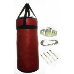 Worek bokserski treningowy 50x20 - 5kg PEŁNY + MOCOWANIE