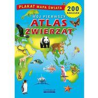 Książki dla dzieci, Mój pierwszy atlas zwierząt (opr. miękka)