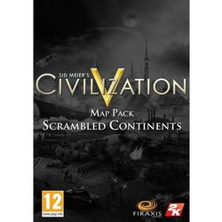 Civilization 5 Scrambled Continents (PC)