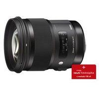 Konwertery fotograficzne, SIGMA A 50mm F/1.4 DG HSM (Sony)