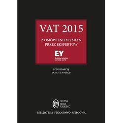 VAT 2015 z omówieniem zmian przez ekspertów EY - Praca zbiorowa