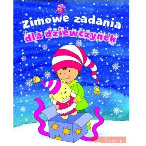 Książki dla dzieci, Zimowe zadania dla dziewczynek (opr. broszurowa)