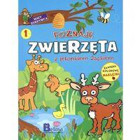 Książki dla dzieci, Poznaję zwierzęta z jelonkiem Jackiem (opr. miękka)