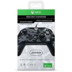 Kontroler przewodowy PDP Phantom Black do Xbox One/PC