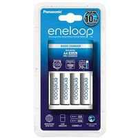 Pozostałe zasilanie do aparatów, Panasonic Eneloop BQ-CC51 + 4 x R6/AA Eneloop 2000mAh BK-3MCCE