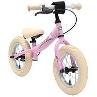 """Rowerki biegowe, Rowerek biegowy 12"""" XL BIKESTAR GERMANY sport kolor różowy jednorożec"""