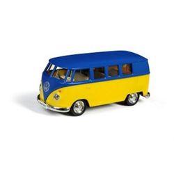 Volkswagen samba bus matte blue rmz