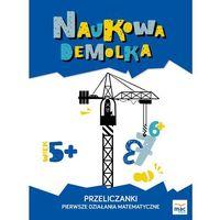 Książki dla dzieci, PRZELICZANKI PIERWSZE DZIAŁANIA MATEMATYCZNE NAUKOWA DEMOLKA (opr. broszurowa)